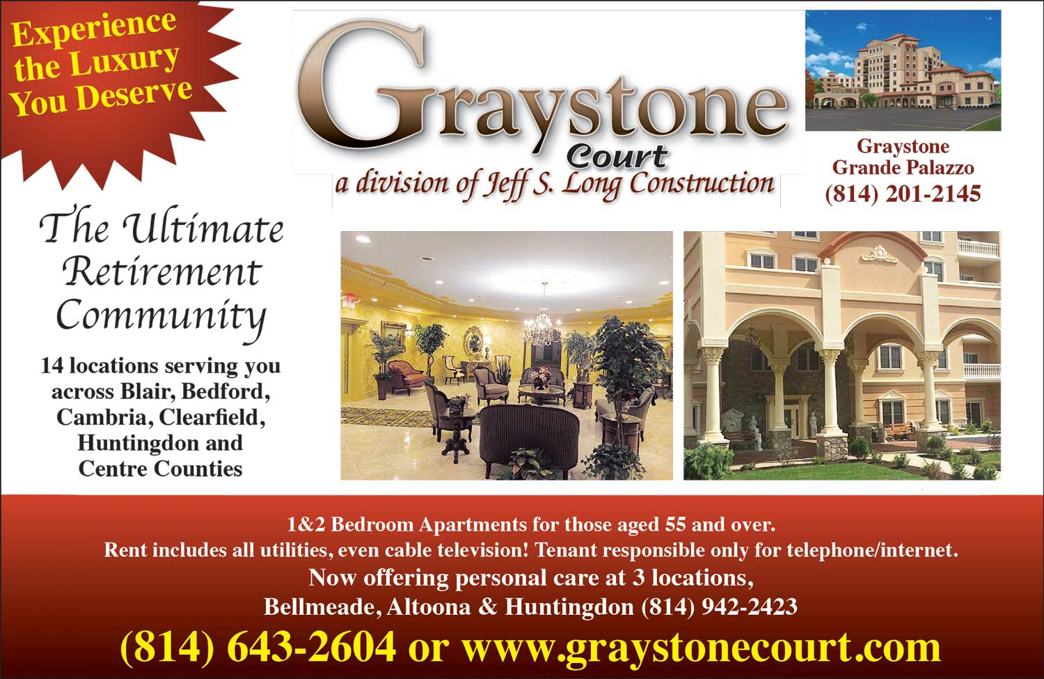 """<center>Graystone Court 