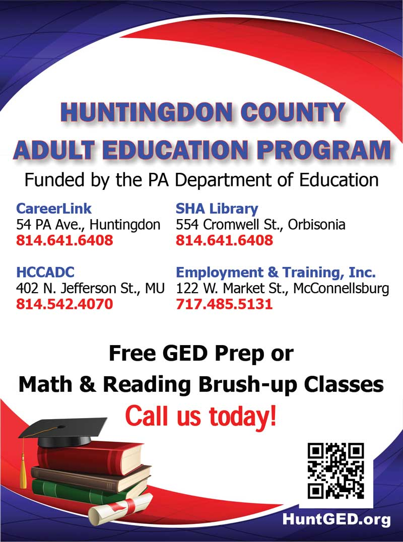 """<center>Huntingdon County Employment & Training 