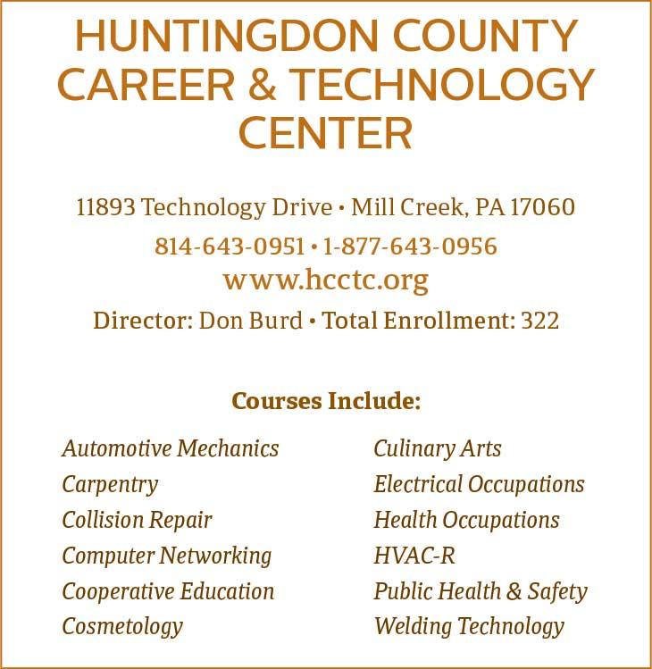 "<center>Huntingdon County Career & Technology Center | <b><a href=""https://www.hcctc.org"" target=""_blank"" rel=""noopener noreferrer"">www.hcctc.org</a></b></center>"