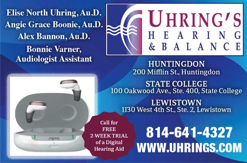 """<center>Uhring's Hearing & Balance 