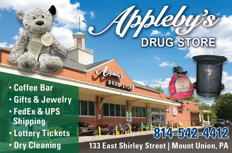 """<center>Appleby's Drug Store 