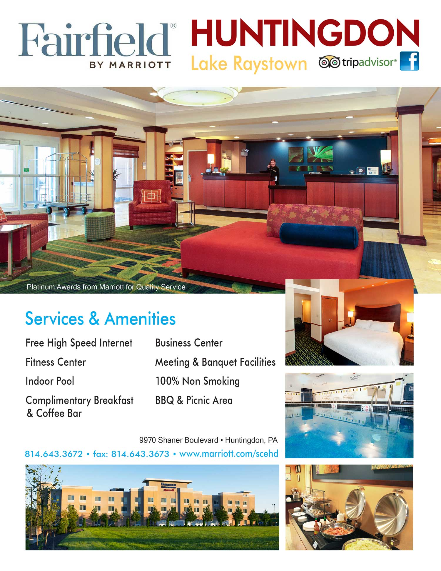 """<center>Fairfield by Marriott 