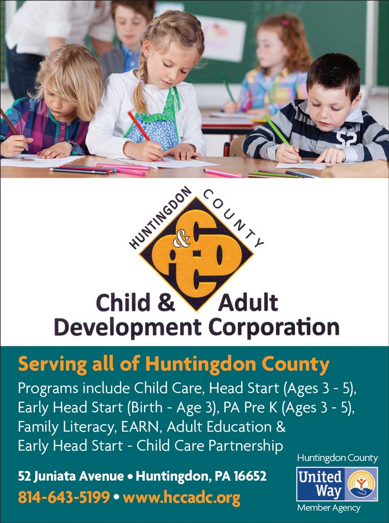 """<center>Huntingdon County Child & Adult Development Corporation 