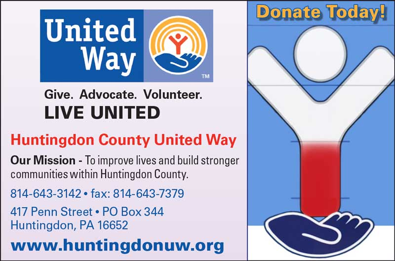 """<center>Huntingdon County United Way 