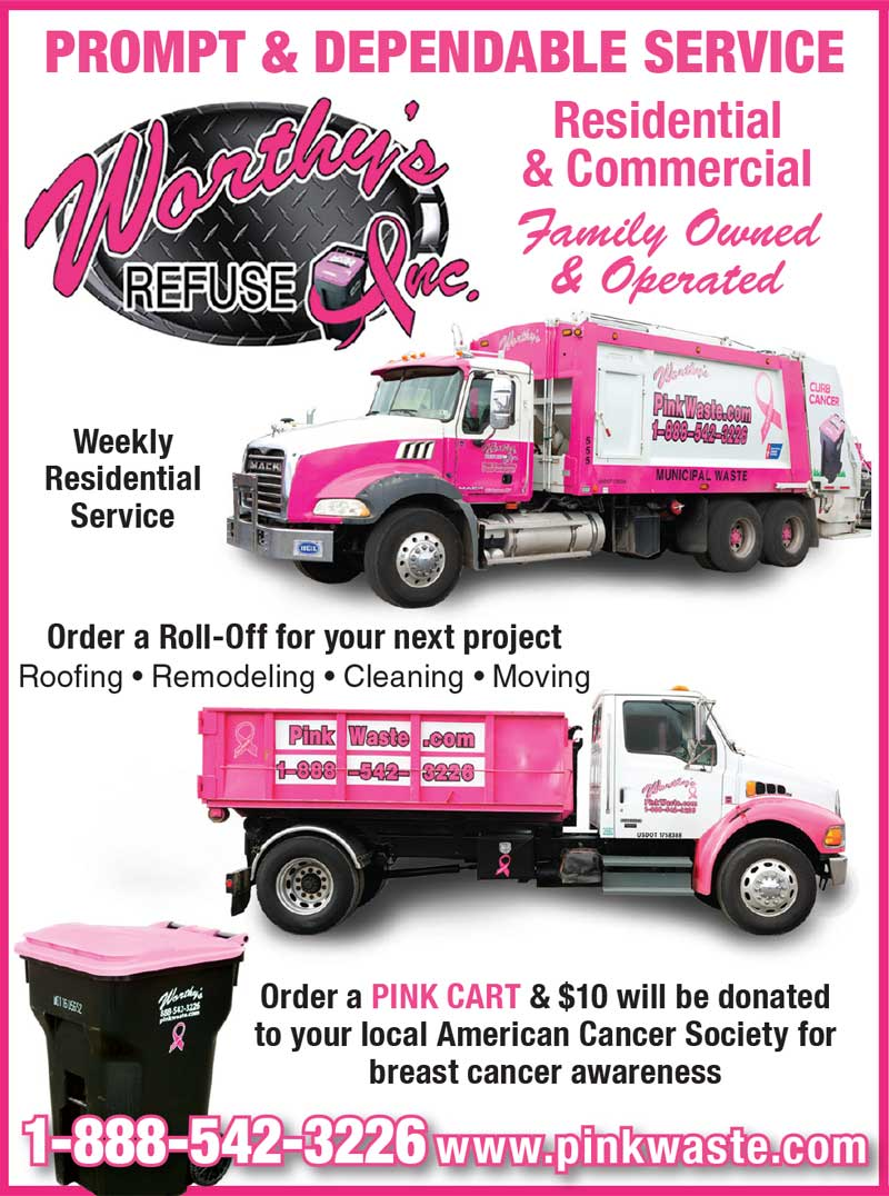 """<center>Worthy's Refuse Inc. 