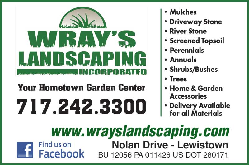 """<center>Wray's Landscaping Incorporated 